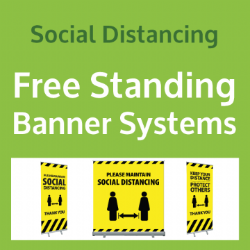 Free Standing Banner Systems